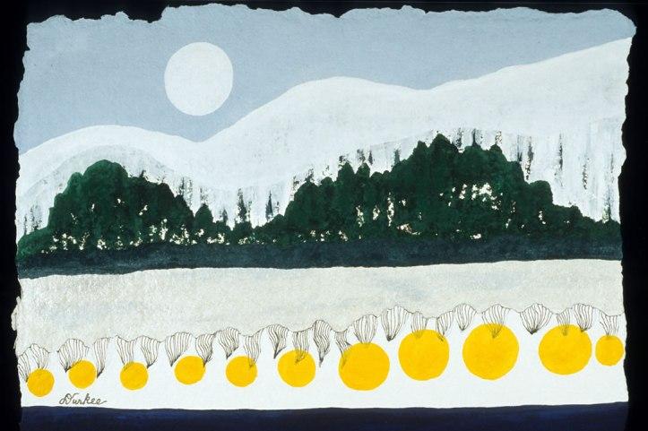 Mountain Moon Glow